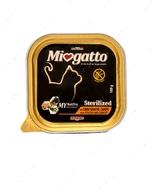 """Консервы для стерилизованных котов с курицей и морковью """"Miogatto Sterilized Pultry and Carrots"""""""