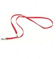 Поводок-престёжка для собак красный Multi-Function Dog