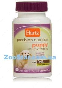 Мультивитаминный комплекс для щенков с DHA Precision Nutrition  Puppy Multivitamins - 100 таб