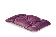 Подушка - подстилка фиолетово-серая Tomas Ink