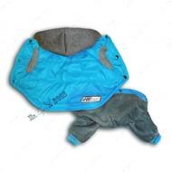 Комбинезон-трансформер с отстегивающимися штанами Спорт Голубой
