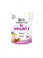 Функциональное лакомство для собак с насекомыми и имбирем для иммунитета Brit Care Dog Functional Snack Immunity Insect