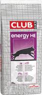 Полнорационный корм для взрослых собак с повышенной активностью CLUB ENERGY HE