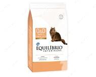 Лечебный корм для котов страдающих от ожирения Equilibrio Veterinary Cat