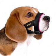 Намордник для собак универсальный розовый BRONZEDOG