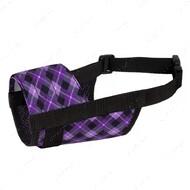 Намордник для собак фиолетовый