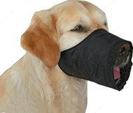 Намордник нейлоновый регулируемый, чёрный Dog Extremе