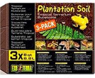 """Наполнитель """"Plantation Soil"""" для террариума 3 х 8,8л"""