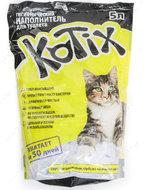 Котикс Наполнитель силикагелевый KOTIX 5 литров