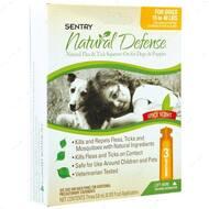 НАТУРАЛЬНАЯ ЗАЩИТА Капли от блох и клещей для собак и щенков от 7 до 18 кг Natural Defense