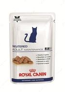 Влажный корм для кошек и котов после стерилизации и кастрации NEUTERED ADULT MAINTENANCE