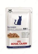 Влажный корм для кастрированных и стерилизованных котов и кошек с момента операции до 7 лет, склонных к избыточному весу NEUTERED WEIGHT BALANCE