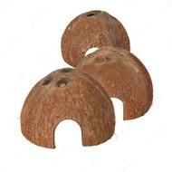 Норка Кокосовый орех натуральный, набор Coconut Hideaway Home