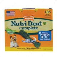 Жевательное лакомство для чистки зубов для собак, вкус курицы Nutri Dent Chicken