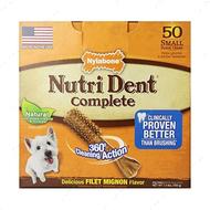 Жевательное лакомство для чистки зубов для собак, вкус филе миньон НУТРИ ДЕНТ Nutri Dent Filet Mignon