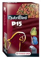 Гранулированный корм для попугаев, с орехами ТРОПИКАЛ ОРЕХИ И ФРУКТЫ NutriBird P15 Tropical