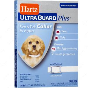 Ошейник дезодорировнный от блох и клещей для щенков  Ultra Guard Plus Flea & Tick Collar for Puppies