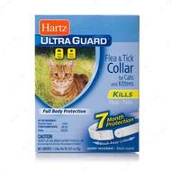 Ошейник для кошек от блох и клещей на 7 месяцев с надежным замком Ultra Guard Flea&Tick Collar for Cats, white
