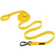 Поводок для собак светоотражающий желтый СOTTON