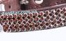 Ошейник Коричневый Со Стразами - 27 см