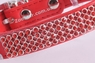 Ошейник Красный Со Стразами - 27 см