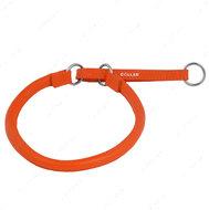 Ошейник-удавка оранжевый GLAMOUR WAUDOG