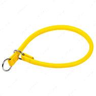 Ошейник-удавка рывковый желтый GLAMOUR WAUDOG