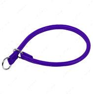 Ошейник-удавка рывковый фиолетовый GLAMOUR WAUDOG