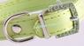 Ошейник Зеленый Со Стразами - 27 см