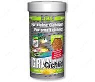 Основной корм премиум-класса в форме гранул для хищных цихлид Grana Сichlid JBL