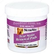 """ОЧИСТКА ПЯТЕН """"Tear Stain Removal"""" влажные салфетки для удаления пятен от слез и слюны у собак, 90 штук"""