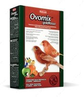 Универсальный корм для вскармливания птенцов и при линьке декоративных птиц Ovomix Gold Rosso