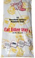 Пакеты для кошачьего туалета, 10 шт, 40х30х10 см