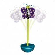 """""""Petstages Quiet Glow Moth"""" - Ванька-встанька - интерактивная игрушка для кошек"""