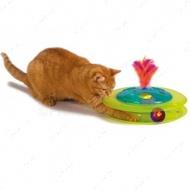 """""""Petstages Sights & Sounds Birdie Chase"""" - Игровой трек со звуком - интерактивная игрушка для кошек"""