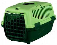 Переноска для животных до 6 кг Capri Transport Box 1 & 2 зеленая I