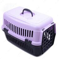 Переноска для кошек и собак фиолетовая SG