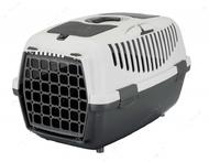 Переноска для животных до 8 кг Capri Transport Box 1 & 2 серая II