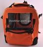 Переноска каркасная-складная нейлон Оранжевая, размер 2 Lux