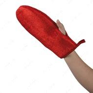 Перчатка для чистки одежды от шерсти