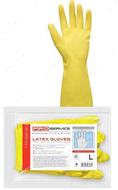 Перчатки универсальные латексные прочные, 2 пары