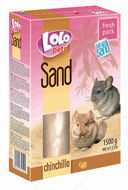 Песок для шиншилл Lolo pets Natural Sand for Chinchilla