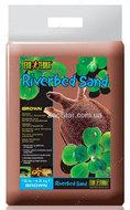 Песок коричневый для черепах, Riverbed Sand Brown, 4.5 кг.