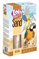 Песок с ракушками для птиц Lolopets