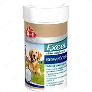 Пивные дрожжи для поддержания кожи и шерсти собак и кошек Excel Brewer's Yeast