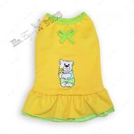 Платье для собак мишутка желтое Mr.БарBOSS