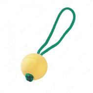 Плавающий резиновый мяч с ручкой для собак - 6,5 см