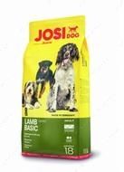 Сухой корм Йозера для собак с ягненком JosiDog Lamb Basic