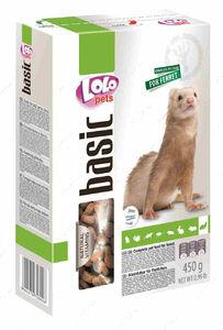 Полнорационный корм для хорька LoLo Pets basic for FERRET
