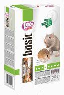 Полнорационный корм для мышей и песчанок LoLo Pets basic for mice and gerbils